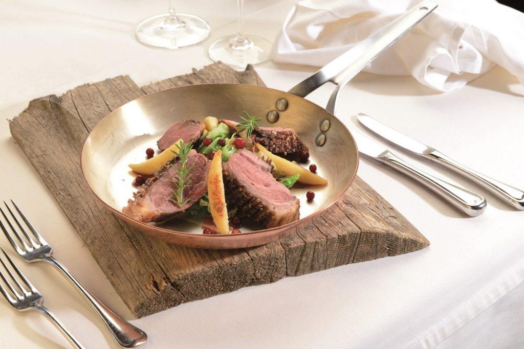 Kulinarische Alpenregion