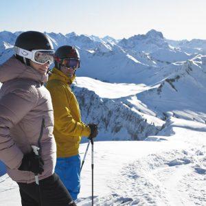 Skifahren am Diedamskopf (c) Alex Kaiser, Bergbahnen Diedamskopf