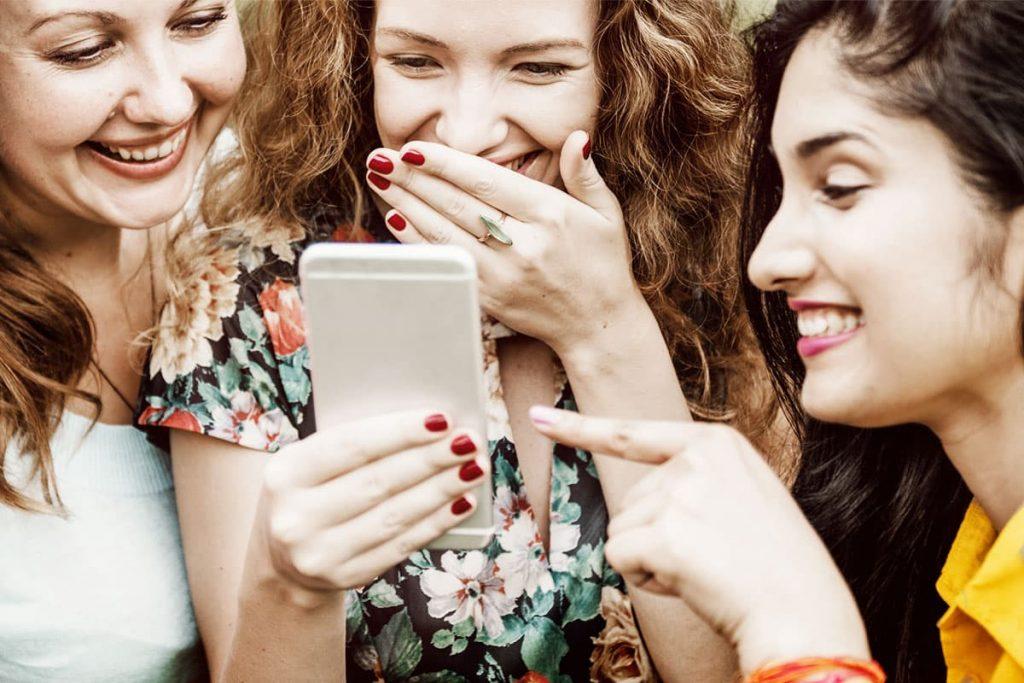 Handy und Internet